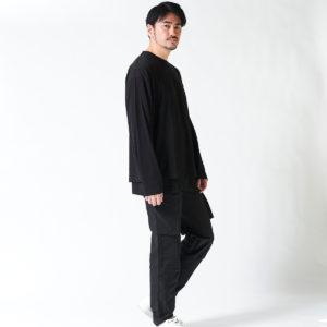 STAMPD|レイヤードデザインのロングTシャツでこなれ感を演出!