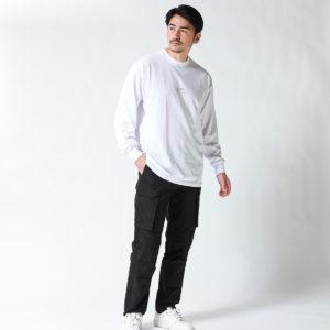 STAMPD|リラックスできるスタイルが流行り!ロングTシャツで余裕のあるスタイルに!