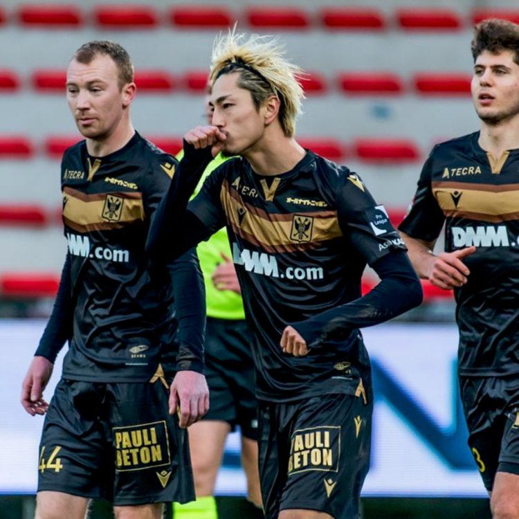 リーグ ベルギー 伊東純也、ベルギーでベストイレブン選出「チャンスあれば上のリーグで」