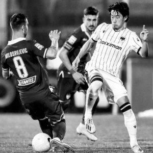 香川真司選手が新天地PAOKでデビュー!勝利に貢献しベスト8進出!