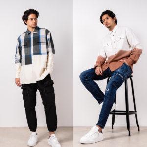 BALR. & STAMPD|視線を集めるユニークなオーバーサイズシャツは春コーデの主役!