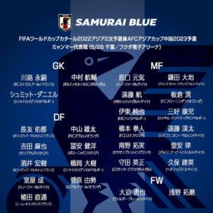 来週から始まる代表ウィーク!A代表・U-24日本代表招集メンバーが決定!