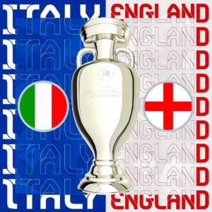 EURO2020ついに決勝カードが決定!!優勝を手にするは果たして、、