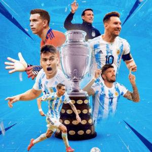 歴史的優勝!アルゼンチン代表がコパアメリカを28年ぶりに制す!11大会ぶり15回目の南米王者に!