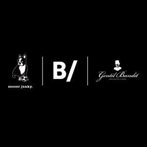 奇跡のトリプルコラボが実現!「B/ × soccer junky × GENTIL BANDIT」のコラボレーションアイテムが新登場。