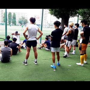Edo All Unitedでプレーするバランススタイルスタッフ 休日サッカー日記。VOL.15