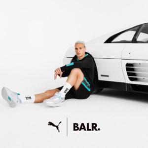 """大反響のコラボレーション「BALR. × PUMA」。U-24ブラジル代表の""""ネクストブレイク候補""""のアントニー選手をブランドモデルに起用!"""