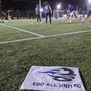 Edo All Unitedでプレーするバランススタイルスタッフ|休日サッカー日記。VOL.17
