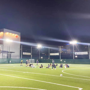 Edo All Unitedでプレーするバランススタイルスタッフ 休日サッカー日記。VOL.16