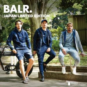 お待たせしました!BALR. JAPAN LIMITED EDITIONが10月2日(土)より全店舗にて発売!!