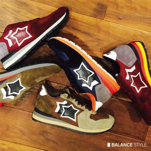 秋に履きたいスニーカーをご紹介。