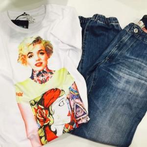 AG Jeansに合わせたいTシャツ