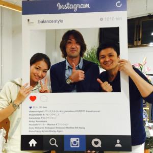 元日本代表の平瀬智行さんが遊びにきてくれました!