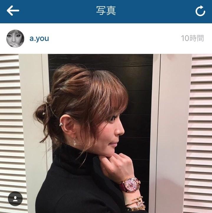 浜崎あゆみinstagram