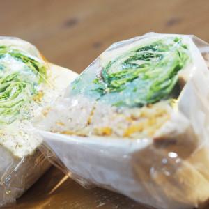 8月5日オープン!! 野菜どっさりで食べごたえ満点のサンドイッチ!