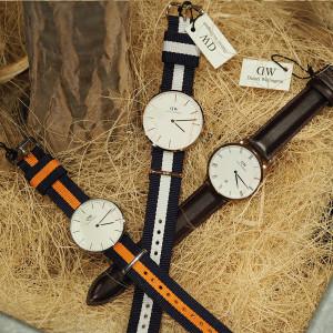 """今や世界中のファッション好きが1本は持っている腕時計""""ダニエルウェリントン"""""""