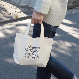 BALANCE STYLE ミニトートバッグが完成! ご購入していただいた方にプレゼントさせていただきます!!