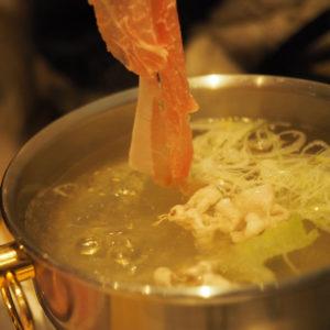 週の中盤は美味しい豚しゃぶMANIN(間人)でエネルギーアップ!@表参道