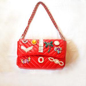 どんな時も女の子はゴージャスに♡Mia Bagのストーンコレクション