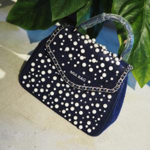 【新登場】華のある女性に♡ Mia Bagのエレガントパールバッグ