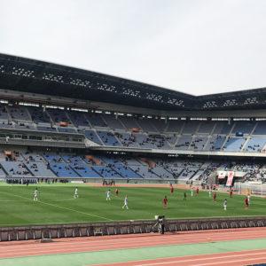 今年初のサッカー観戦!U‐18Jリーグ選抜 vs 日本高校サッカー選抜