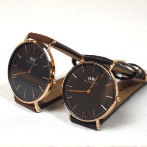 ダニエルウェリントンの腕時計で春へ向けて大人への一歩を♪