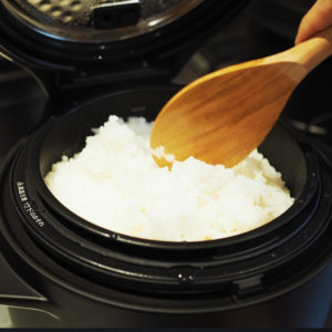 BALANCE Cafeでご飯が食べれる幸せ♡待望のバルミューダの炊飯器が到着!!
