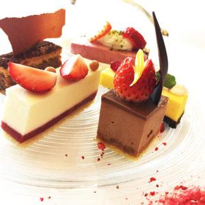高級感のある卓上デザートを味わえる銀座「ICONIC」♡