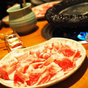 特製石鍋で美味しいタコしゃぶを味わえる「しゃぶ膳紫波」へ