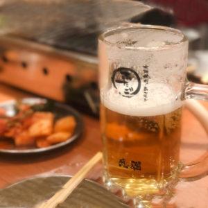 2月のお疲れ様会は代々木駅近くの「大阪焼肉・ホルモンふたご」へ♪
