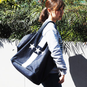 そろそろ春の気配♡ Mia Bagのデニムバッグをコーデにオン!