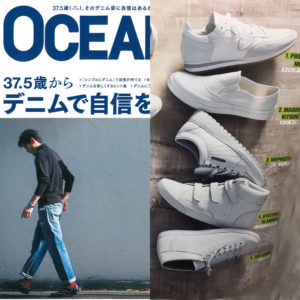 OCEANS 4月号掲載|PHILIPPE MODEL