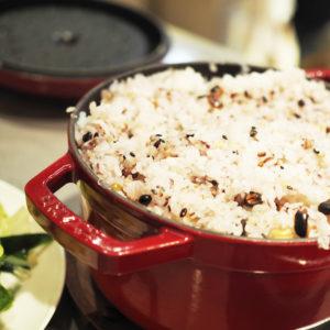 BALANCE cafe|十六穀米で栄養価アップ!