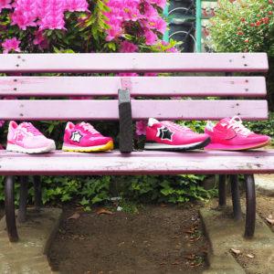 BALANCE RUN | Pink×Pink×Pink! 足元に華やかなカラーをプラス♪
