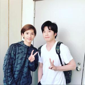俳優 田中圭さんがGentil Banditのバックパックを愛用中♡