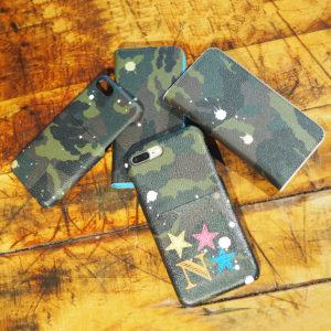【再入荷】Gentil Banditの迷彩iPhoneケース、WHITEとBLUEが最後の入荷!
