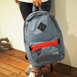 後ろ姿を可愛らしく♪SUPE designのデニム地バックパックをご紹介!