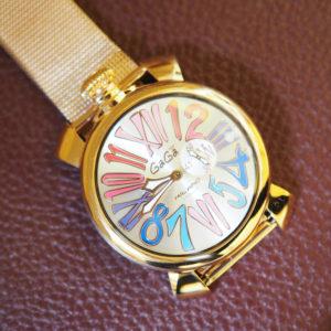 女性の憧れ♡GaGa Milanoの高級感あふれる腕時計