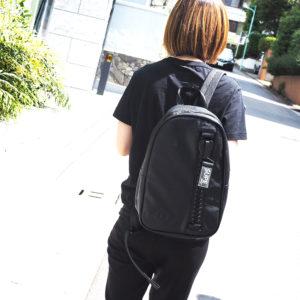 【再入荷】SUPE designのブラックパックパックでクールな後ろ姿に♡