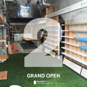 BALANCE STYLE 大阪店|ついに、オープンまであと2日!