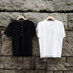 CIRCOLOの着心地最高なヘンリーネックTシャツをご紹介♪