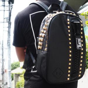【再入荷】SUPE designのスタッズいっぱいミニバッグパックが再入荷!