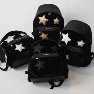 光沢感と質感が絶妙なMiaBagのスターファーバッグをバッグパッグ♪