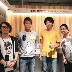 バランススタイル 大阪|セレッソ大阪 柿谷曜一朗選手ご来店!