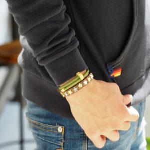 秋の腕元コーデ!元気が出る釘型ブレス「CIOD」
