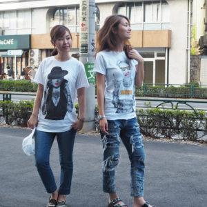 天気が良い日には、やっぱりTシャツが着たくなる!!