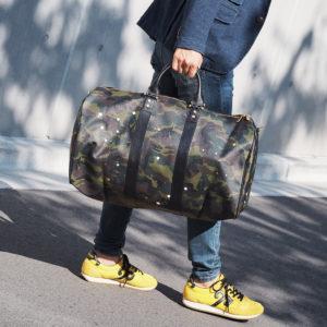 ジャンティバンティの大容量ボストンバッグで楽しくカッコよくお出かけを!