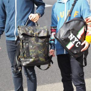 お出かけのお供は、おしゃれで実用性バッチリのバッグパックで決まり!