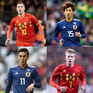 サッカー日本代表、世界5位のベルギー代表相手に好勝負!