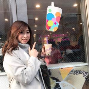 新大久保・タピオカミルクティーのお店「Chatime」に行ってきました♡